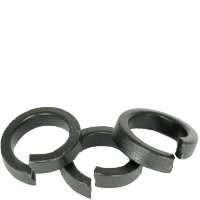 SPLIT LOCK WASHER (USA), HI COLLAR, THRU HARDENED, PLAIN