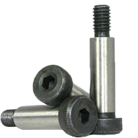 SOCKET SHOULDER SCREW, THERMAL BLACK OXIDE, ALLOY