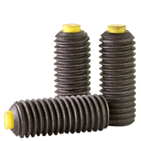 METRIC NYLON TIP SET SCREW, THERMAL BLACK OXIDE, ALLOY
