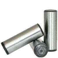 METRIC DOWEL PINS, THROUGH HARDENED, DIN 6325, PLAIN, ALLOY