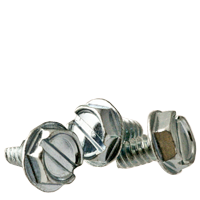 THREAD CUTTING SCREW, TYPE 23(T), ZINC, LOW CARBON