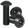 BUTTON SOCKET CAP, THERMAL BLACK OXIDE, ALLOY