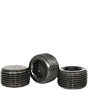 PIPE PLUGS, HEX DRY SEAL 3/4 TAPER, BLACK, ALLOY (USA)