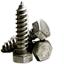 HEX LAG SCREW, HOT DIP GALVANIZED, LOW CARBON