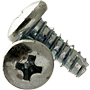 THREAD CUTTING SCREW, TYPE 25(BT), ZINC, LOW CARBON