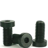 "BUTTON HEAD Socket Cap Screws  Alloy Steel Black Oxide Qty 20 #8-32 x 3//4/"""