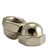 ACORN NUT, NICKEL PLATED