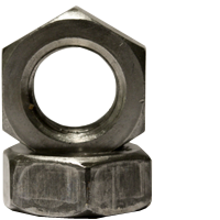 FINISHED HEX JAM NUT, PLAIN
