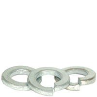 METRIC SPLIT LOCK WASHERS THRU HARDENED DIN 127 ZINC CR+3