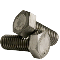 HEX BOLT, A307 GRADE A, PLAIN, LOW CARBON