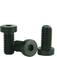METRIC 10.9 LOW HEAD SOCKET CAP, DIN 7984, THERMAL BLACK OXIDE, ALLOY