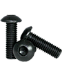 METRIC CLASS 12.9 BUTTON SOCKET SCREW, ISO 7380, THERMAL BLACK OXIDE