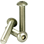 METRIC STAINLESS A2 BUTTON SOCKET CAP, ISO 7380